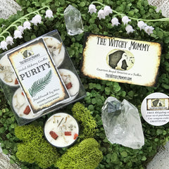 Purity Spell Candles By The Witchy Mommy