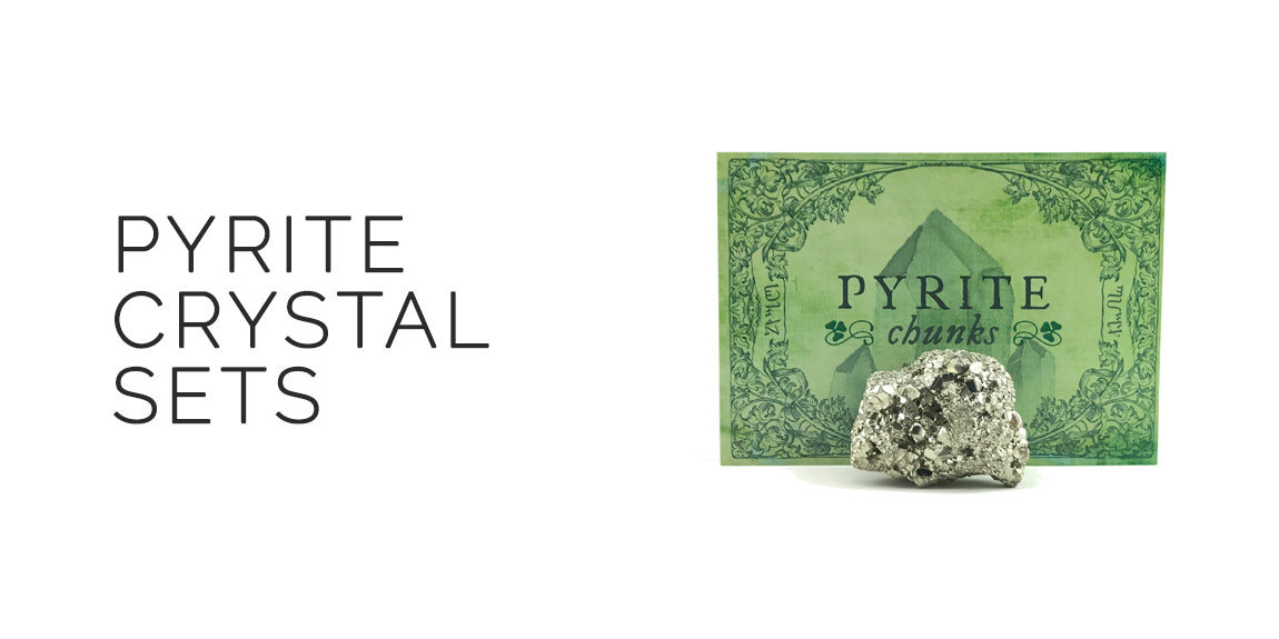 Pyrite Crystal Sets By Sabbat Box - Ostara 2019