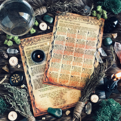 Rune Correspondence and Divination Guide - Sabbat Box