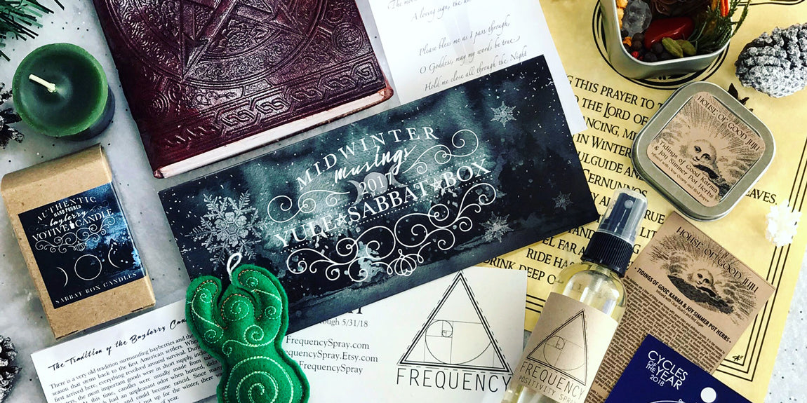 Discover the 2017 Yule Sabbat Box Here