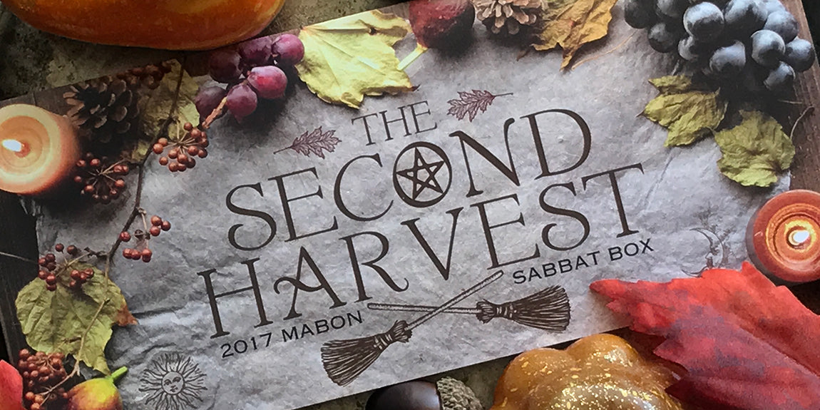 2017 Mabon Sabbat Box - Witch Subscription Box - Wiccan Subscription Box