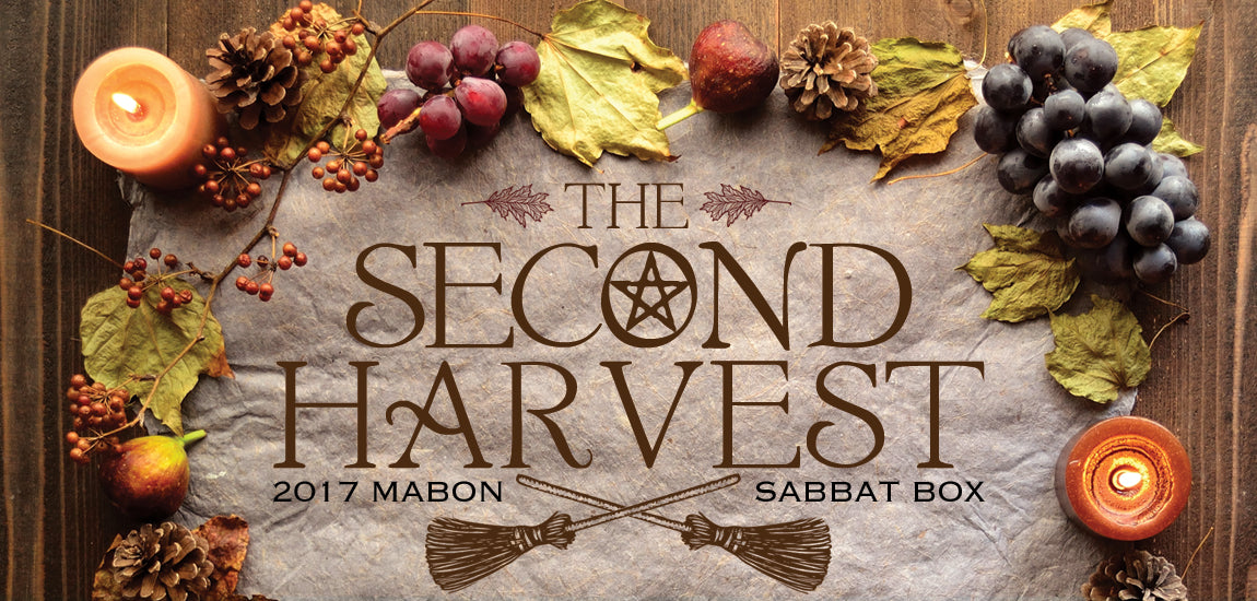 Mabon Sabbat Box Theme Release - The Second Harvest - Subscription Box For Witches Wiccans and Pagans