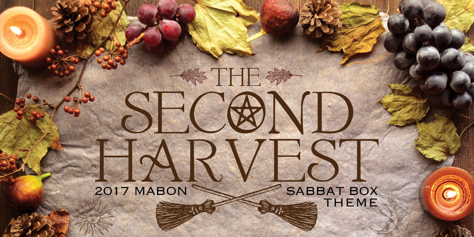 The Second Harvest - Mabon Sabbat Box Theme