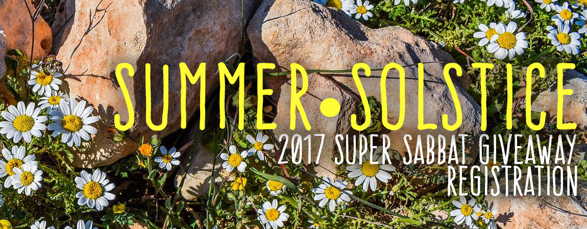Midsummer • Super Sabbat Giveaway Registration 2017
