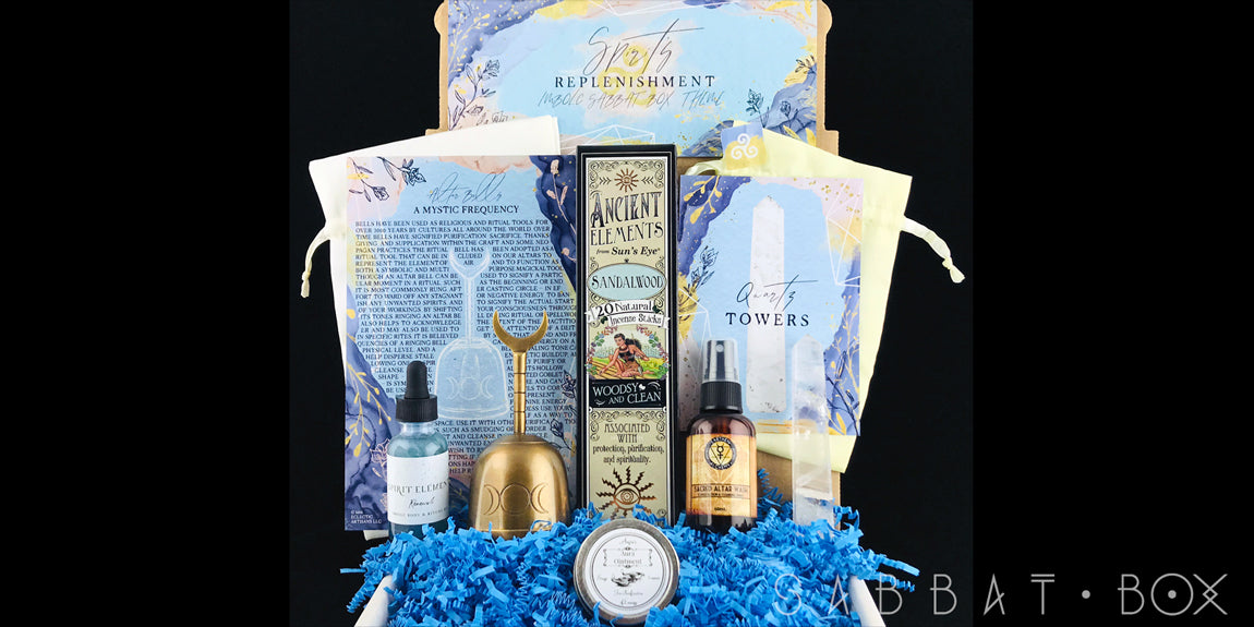 2019 Imbolc Sabbat Box - Spirit's Replenishment - Subscription Box For Pagans