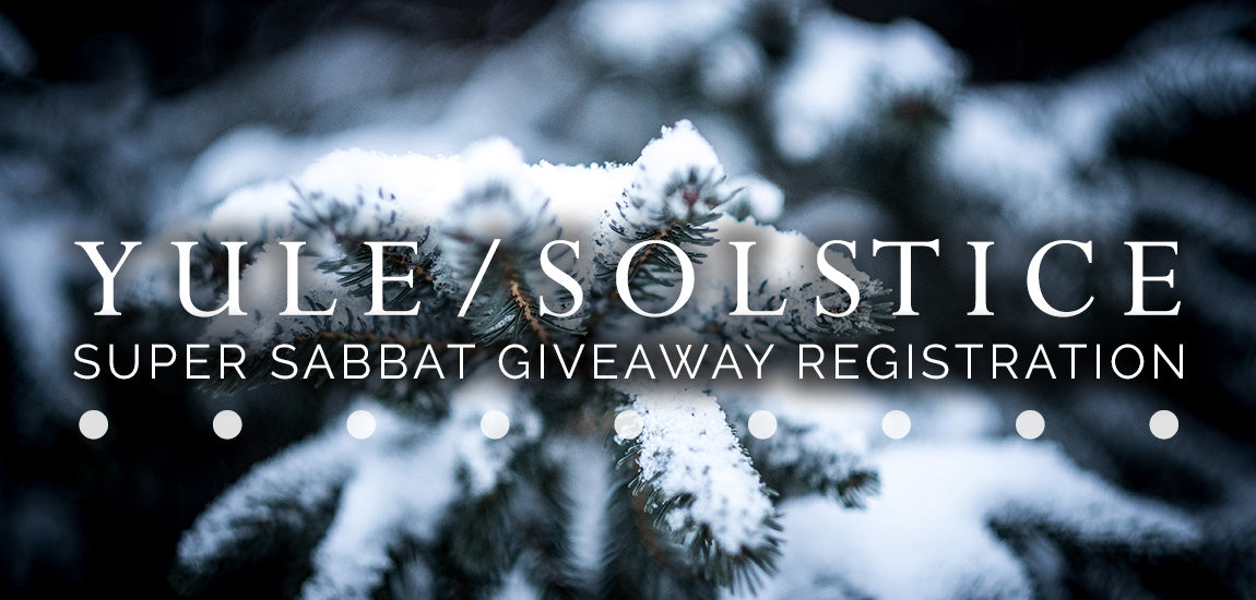 2016 Yule Sabbat Box Super Sabbat Giveaway Registration Form