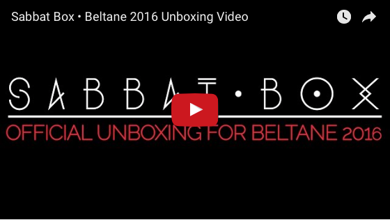 Sabbat Box - Official Beltane Unboxing Video