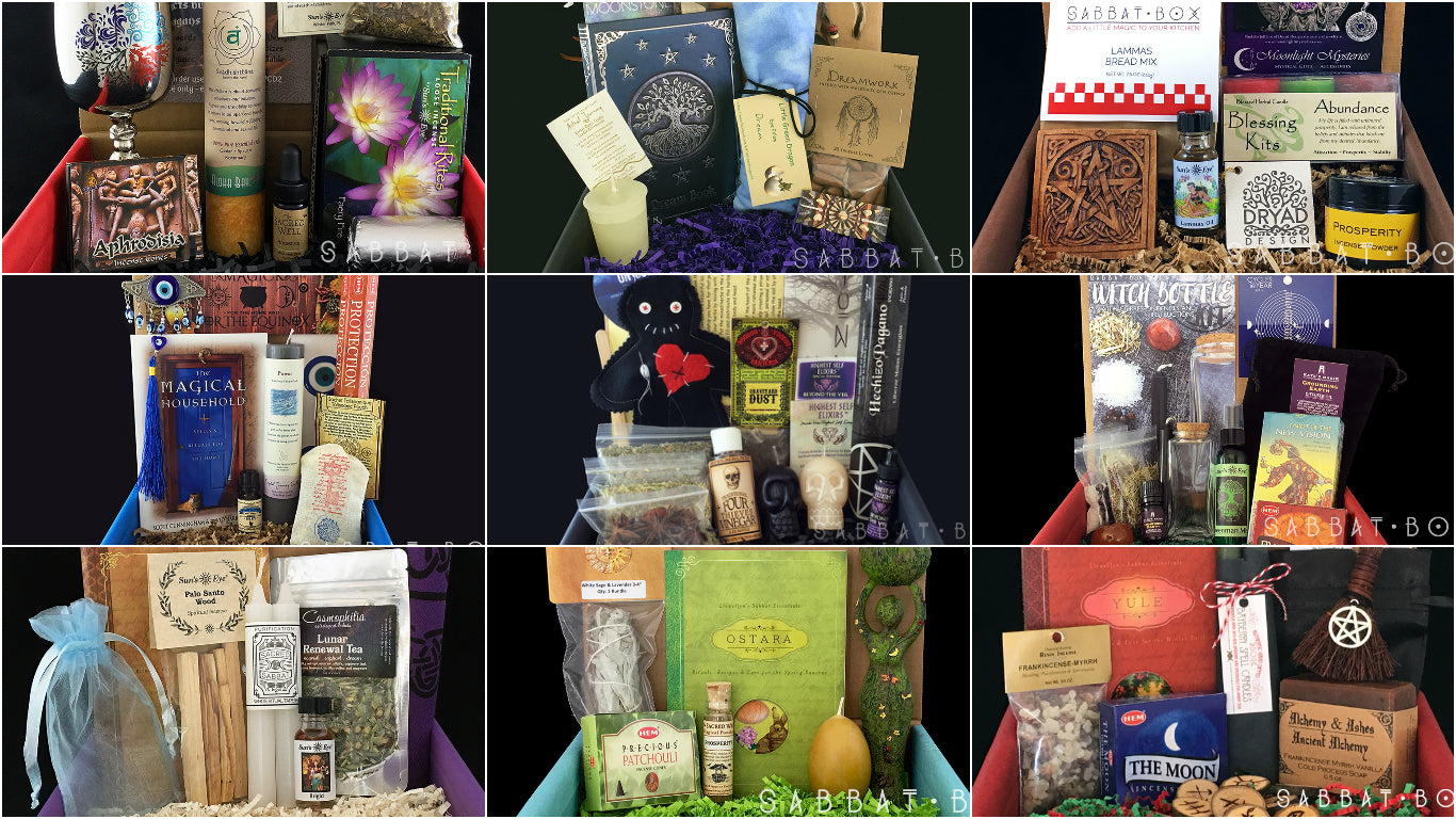 Sabbat Box - A Subscription Box For Wiccans and Pagans - Wiccan Supplies