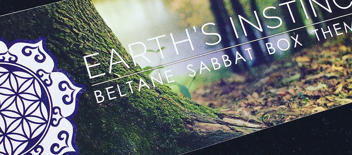 Beltane Sabbat Box Earth's Instinct Wiccan Supplies Subscription Box
