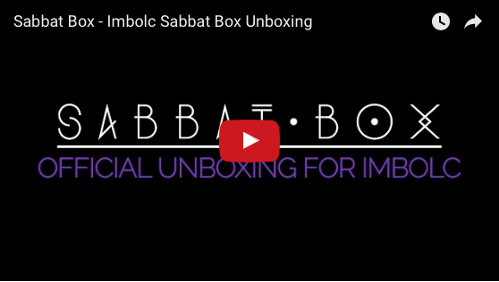Sabbat Box Imbolc Sabbat Box Unboxing Video