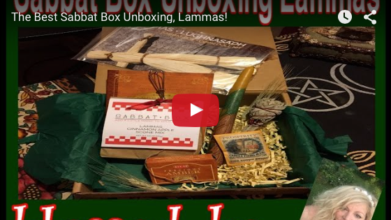 Lammas Super Sabbat Giveaway Box Winner