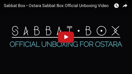 Sabbat Box Official Ostara Unboxing Video
