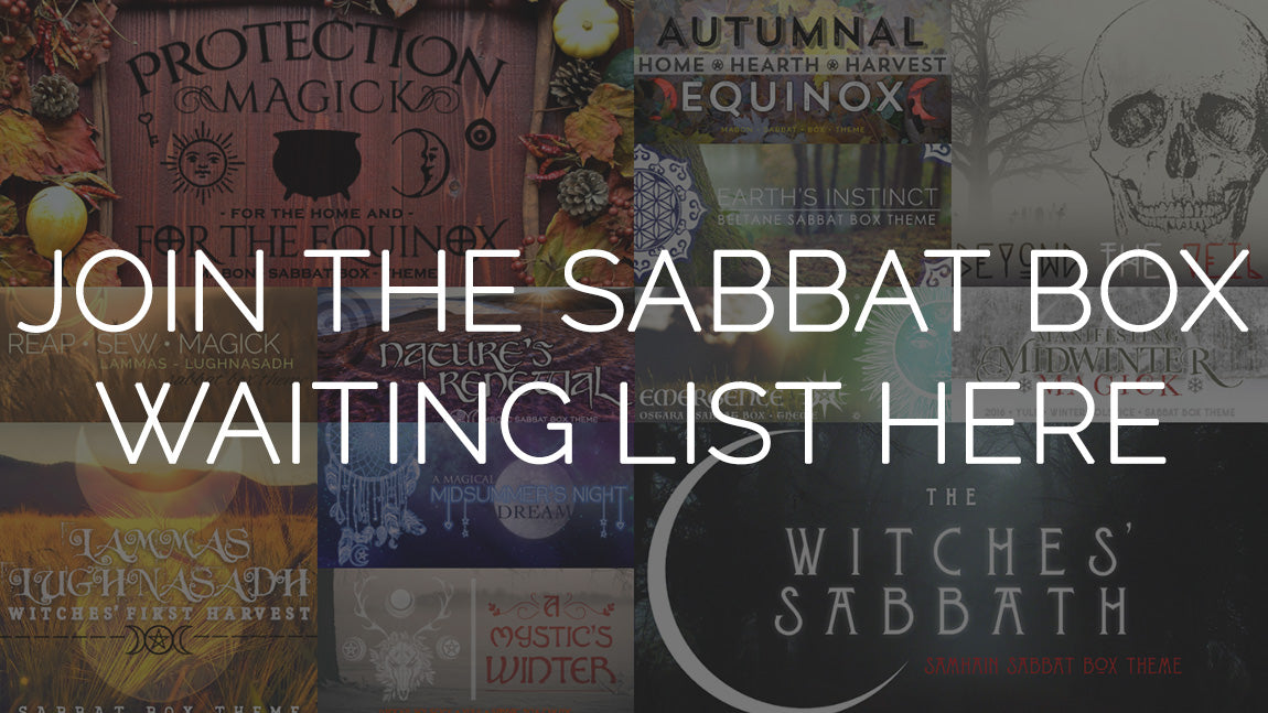 Sabbat Box Wiccan Subscription Box Witch Subscription Box Subscription Box For Pagans