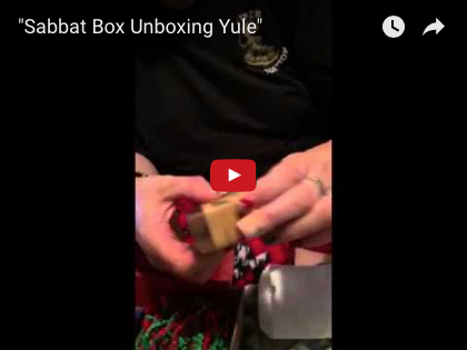 Sabbat Box Super Sabbat Giveaway Winner for Yule