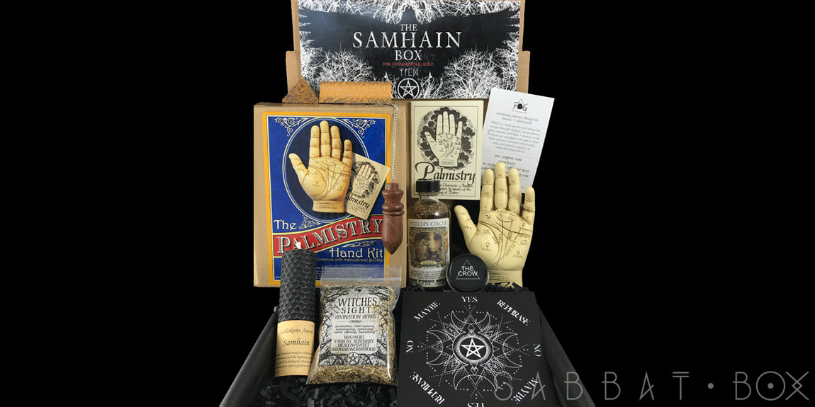 Sabbat Box Samhain Sabbat Box Subscription Box For Witches Wiccans and Pagans