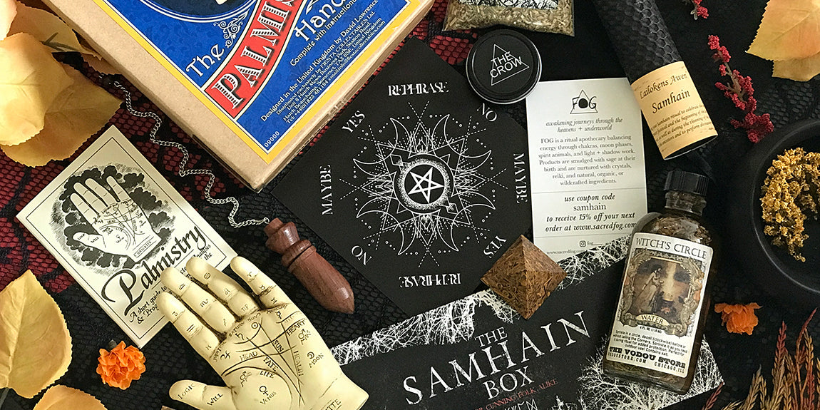 2017 Samhain Sabbat Box - For Cunning Folk Alike - Divination Tools and Wiccan Supplies