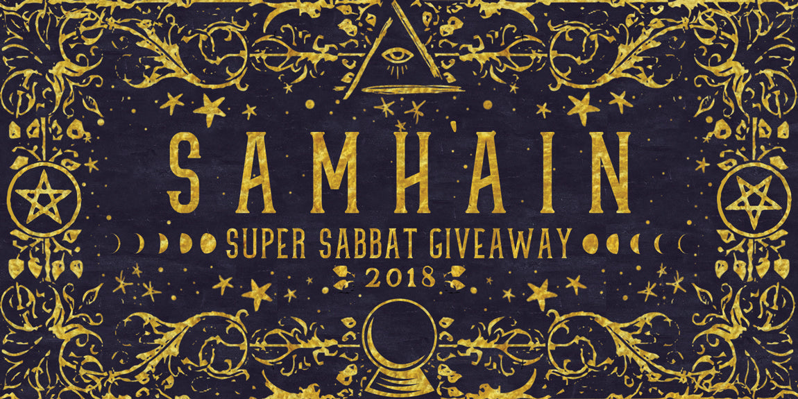 Samhain 2018 • Super Sabbat Giveaway Registration