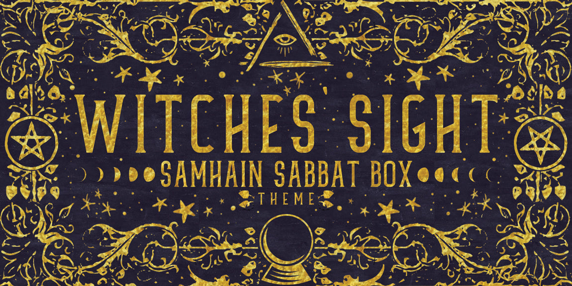 Samhain Sabbat Box Witches' Sight Sabbat Box Theme - Witch Subscription Box Pagan Subscription Box Wiccan Subscription Box