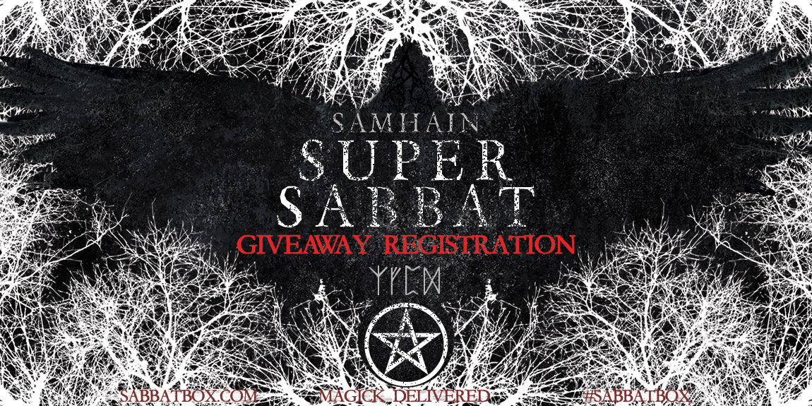 Samhain Super Sabbat Giveaway Registration - Sabbat Box - Wiccan Subscription Box