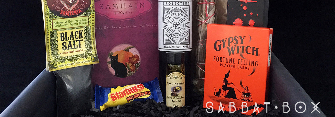 Discover The Samhain Sabbat Box - The Witches' Sabbath