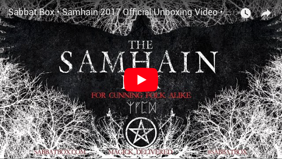 2017 Samhain Sabbat Box Unboxing Video
