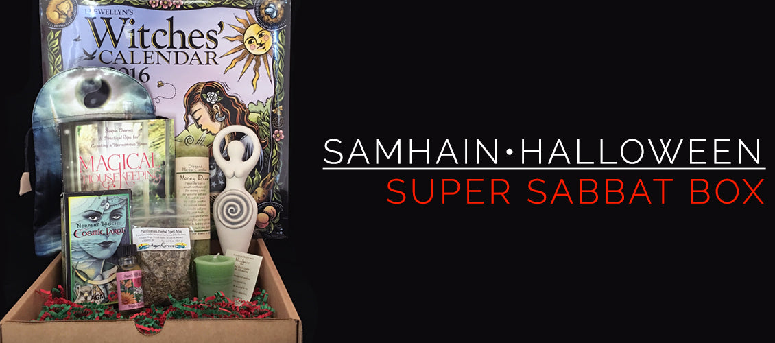 Samhain - Super Sabbat Giveaway Box & Winner