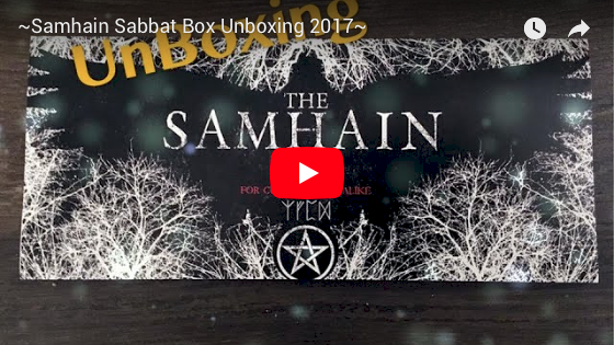 2017 Samhain Sabbat Box Super Sabbat Giveaway Winner