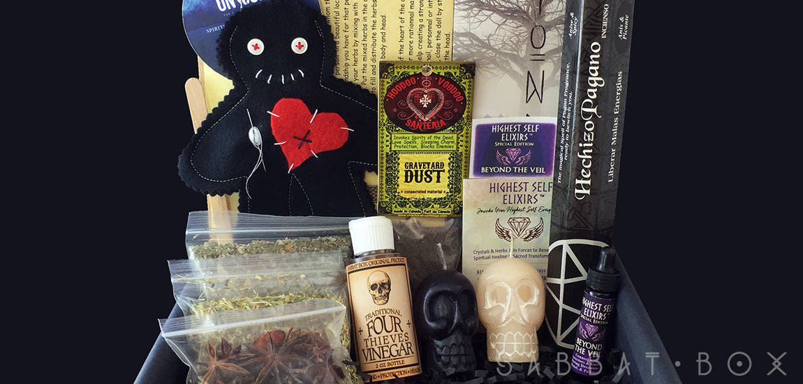 2016 Samhain Sabbat Box - Beyond The Veil