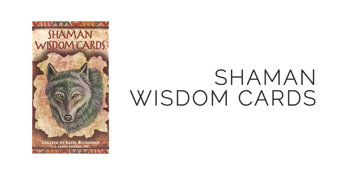 Shaman Wisdom Oracle Card Deck and Bag Set