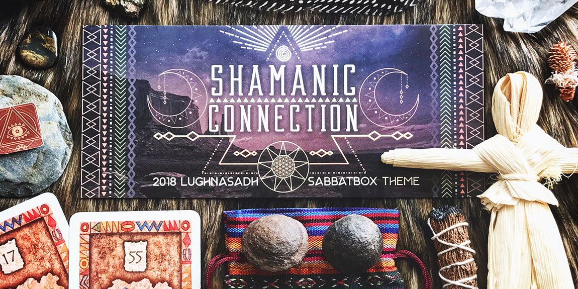 Shamanic Connection Lammas Lughnasadh Sabbat Box - A Subscription Box For Wiccans and Pagans