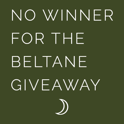 Beltane Super Sabbat Giveaway Winner - 2018