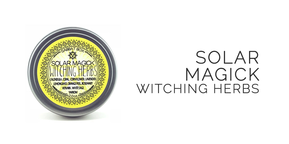 Solar Magick Witching Herbs By Sabbat Box