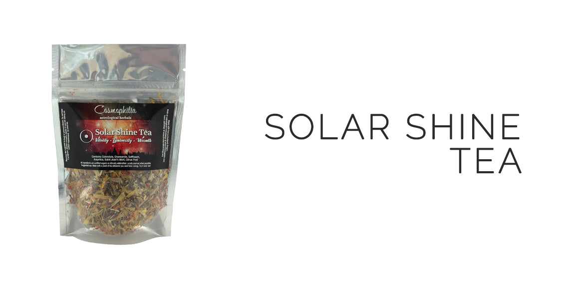 Solar Shine Tea By Cosmophilia Astrological Herbals - Sabbat Box