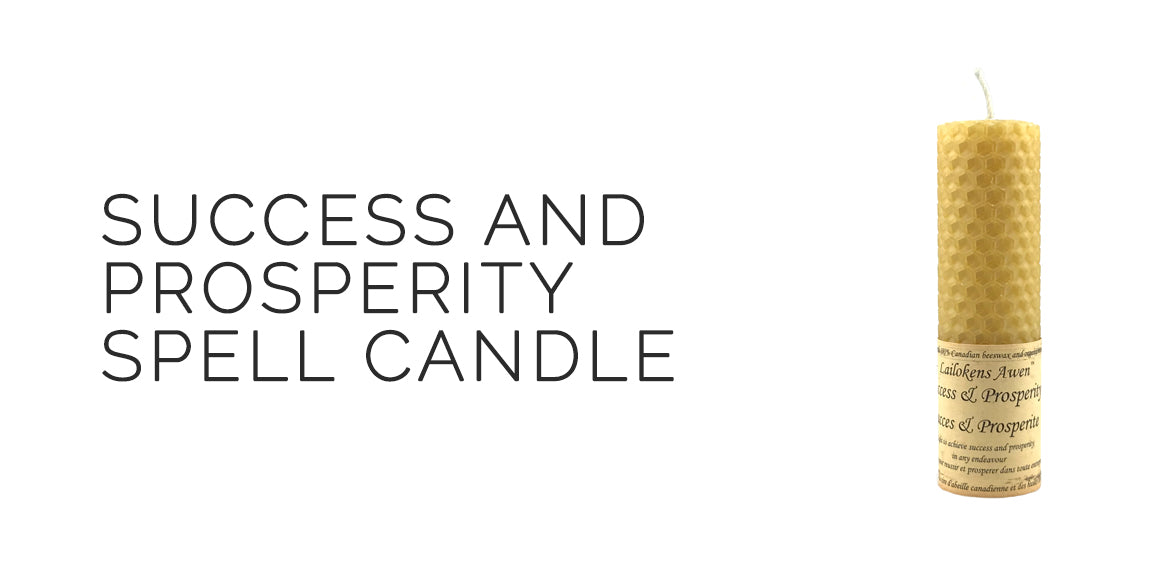 Success and Prosperity Prosperity Spell Candle