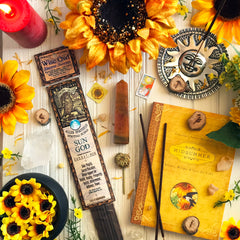 Sun God Stick Incense By Charme et Sortilege - Sabbat Box