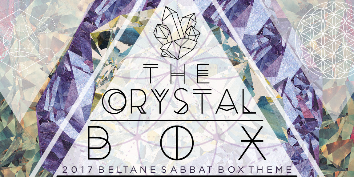 Sabbat Box Pagan Subscription Box Wiccan Subscription Box The Crystal Box For Beltane