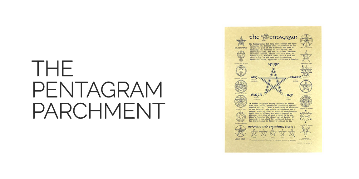 The Pentagram Parchment With Elements