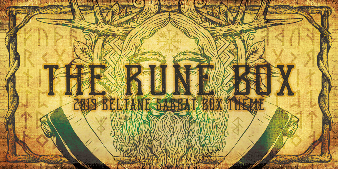 The Rune Box 2019 Beltane Sabbat Box Theme - Witch Subscription Box Sabbat Box - Rune Sabbat Box
