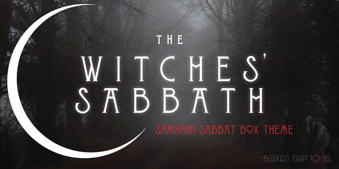 Samhain Sabbat Box - The Witches' Sabbath