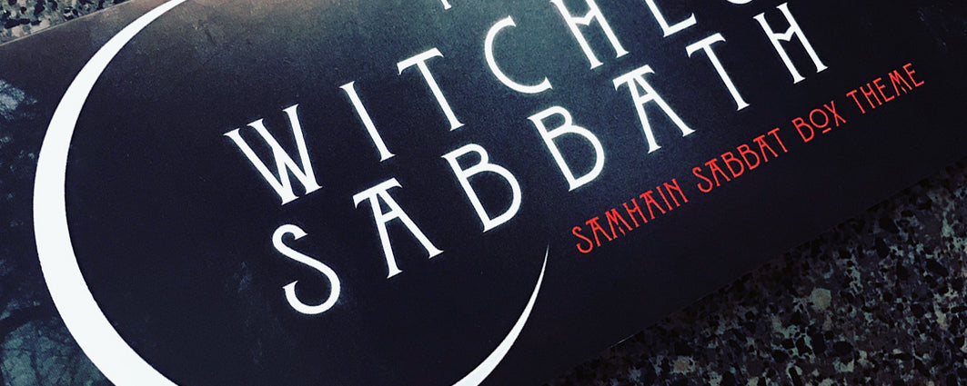 Samhain Sabbat Box - The Witches Sabbath