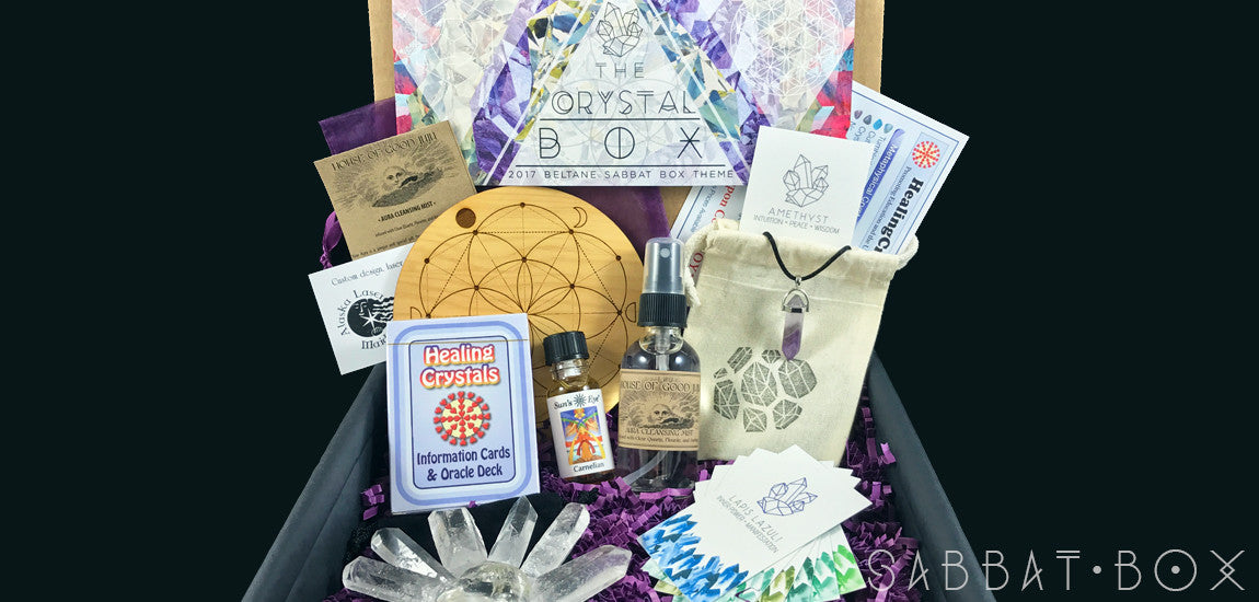 Discover the 2017 Beltane Sabbat Box • The Crystal Box