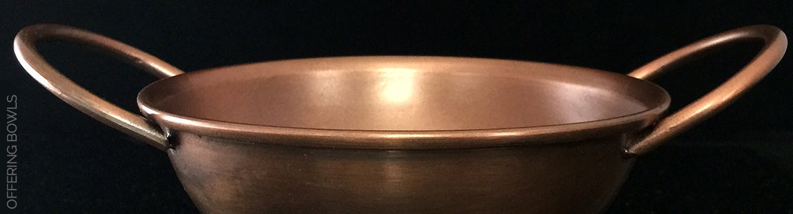 Copper Finished Ritual Offering Bowl Sabbat Box