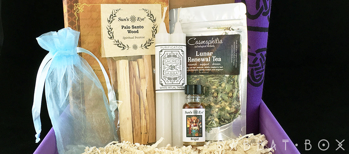 Wiccan Supplies Featured In the Imbolc Sabbat Box