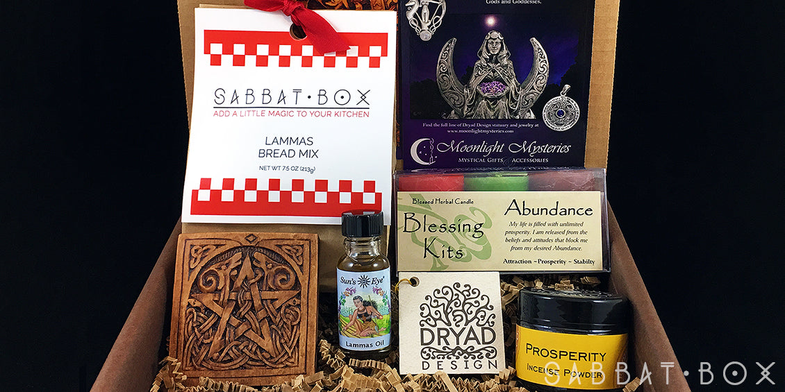 Wiccan Supplies Witchcraft Supplies Sabbat Box Lammas Sabbat Box