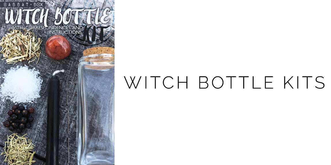 Witch Bottle Kit - With Instructions and Correspondences - Sabbat Box Exclusive Product