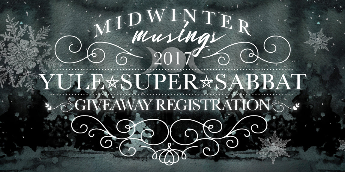 2017 Yule Sabbat Box - Midwinter Musings Sabbat Box Theme