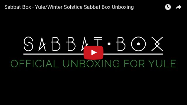 Yule Sabbat Box Unboxing Video