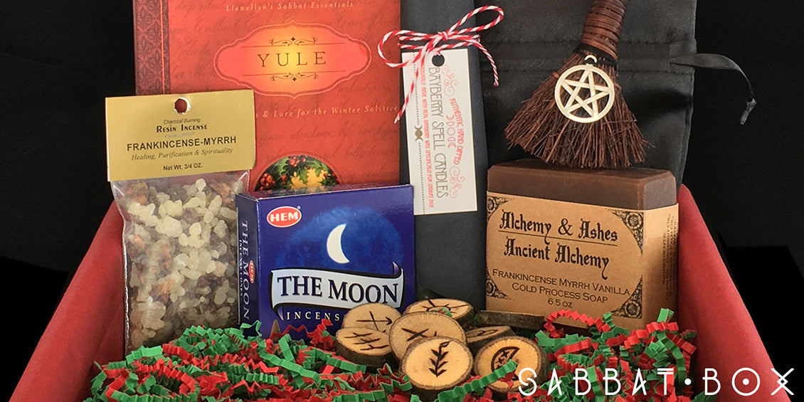 Yule Sabbat Box Winter Solstice Sabbat Box Wiccan Supplies Store
