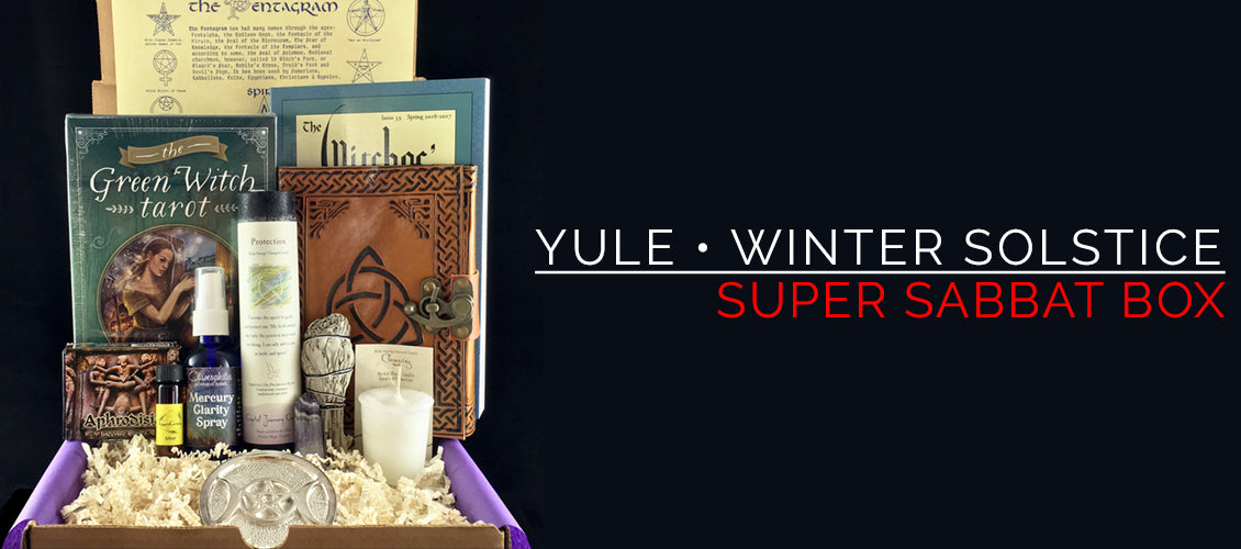 Yule Super Sabbat Box Giveaway Winner - Wiccan Supplies