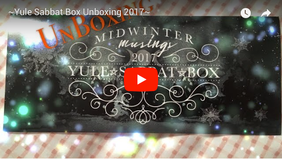 Yule Super Sabbat Giveaway Winner - 2017